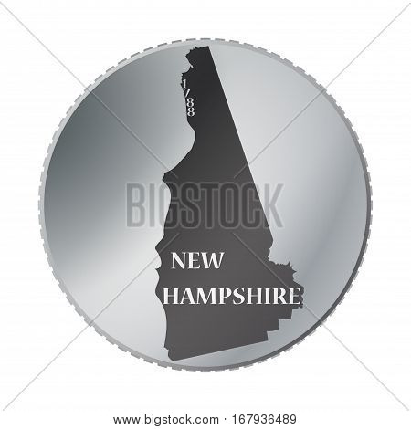New Hampshire State Coin