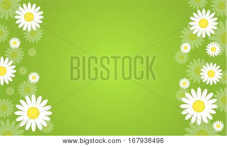 Background of spring vector art collection stock