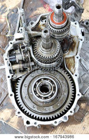 Car Gear Box Repair automotive repair workshop garage mechanic