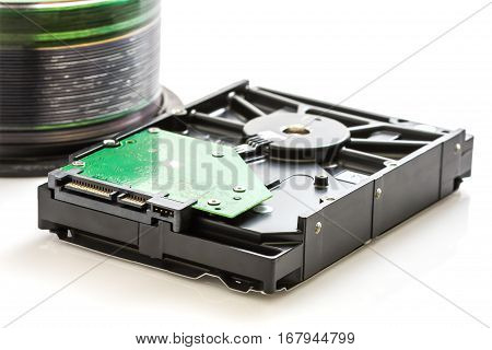 Hard Disk Drive And Compact Discs