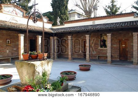 PADUA, ITALY - MARCH 02: Shrine of St. Leopold Mandic (Santuario di San Leopoldo Mandic) in Padua, Italy on March 02, 2005.