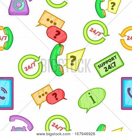 Support pattern. Cartoon illustration of support vector pattern for web
