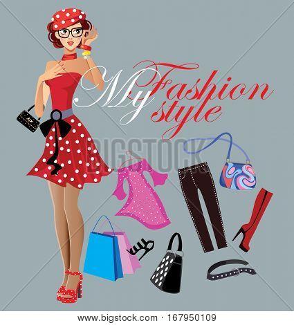 my fashion style, mode girl, fashionable girl