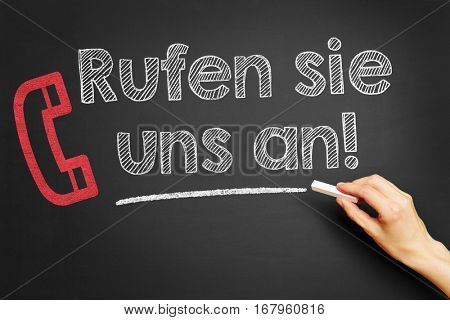 Hand writing in German