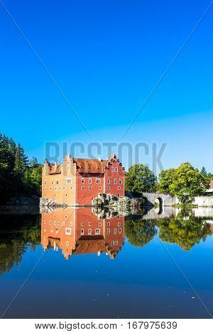 palace Cervena Lhota, Czech Republic