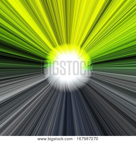 Yellow and grey decorative abstract energetic image
