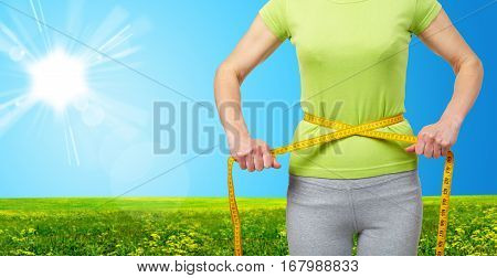 Slender Woman In Steppe