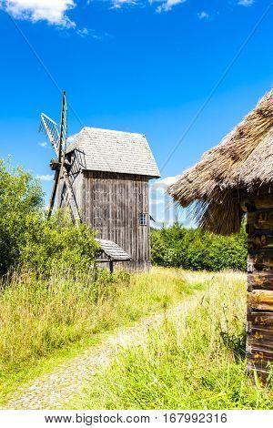 ethnographic park of Russian culture, Bialowieski national park, Podlaskie Voivodeship, Poland