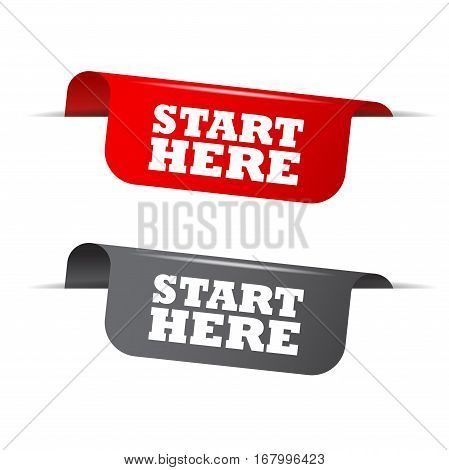 This is red and gray vector elements start here