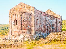 Hdr St Lussorio Church In Fordongianus