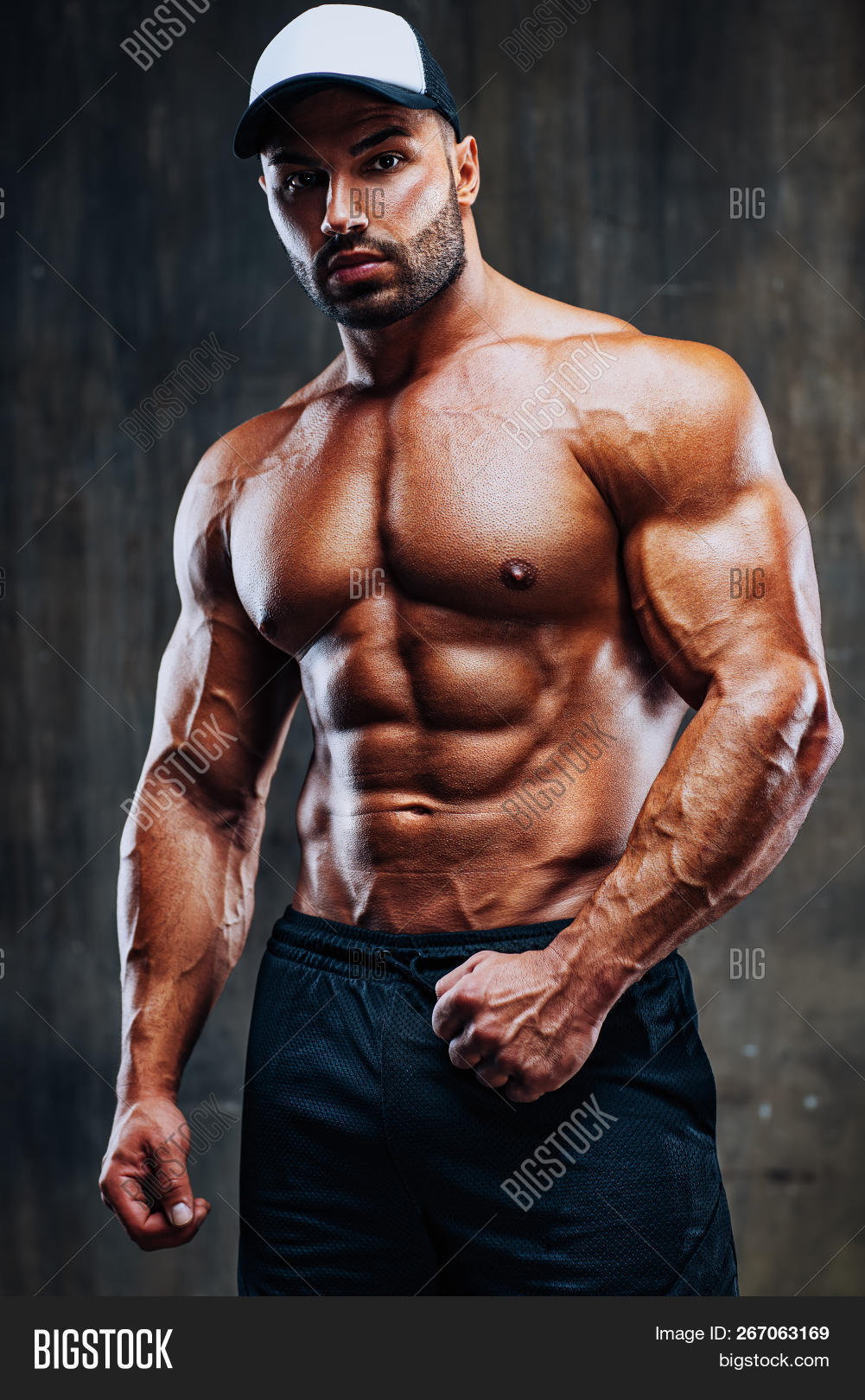 Young Strong Man Image & Photo Free Trial   Bigstock