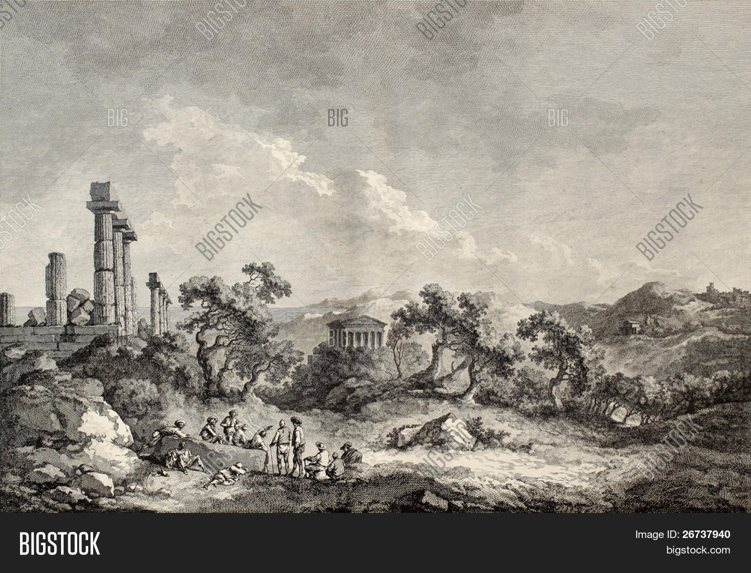 Old View Valley Image & Photo (Free Trial) | Bigstock