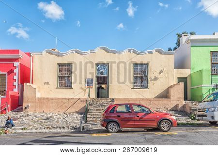 Cape Town, South Africa, August 17, 2018: The Bo-kaap Museum In Cape Town In The Western Cape Provin