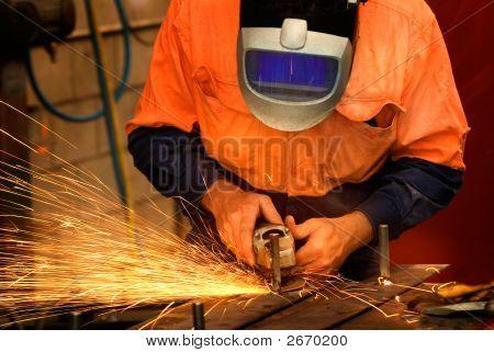 Industrial Metal Grinding