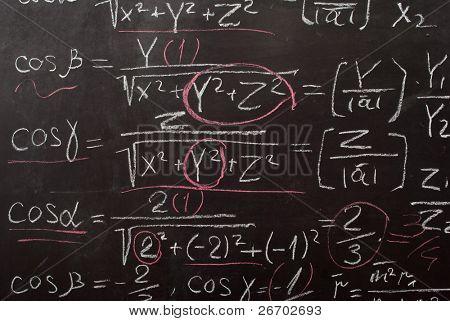 Mathematical equation