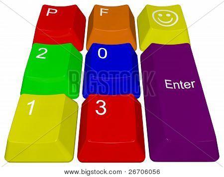 PF 2013 PC keys