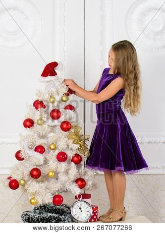 Make This Day Best Holiday Ever. Very Special Time Of Year. Kid Happy Because Holiday Season Arrive.