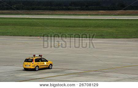 Follow Me airport car