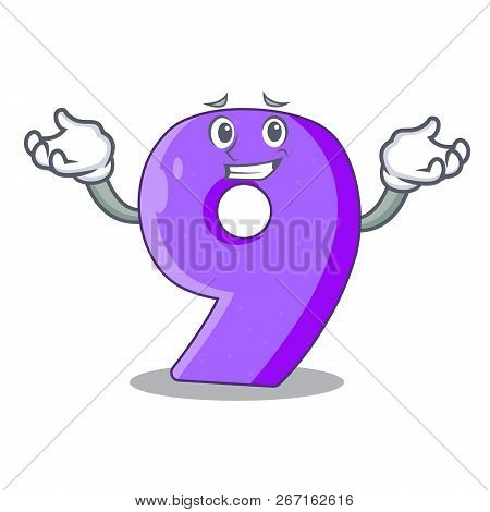 Grinning Number Nine Athletics The Shaped Character