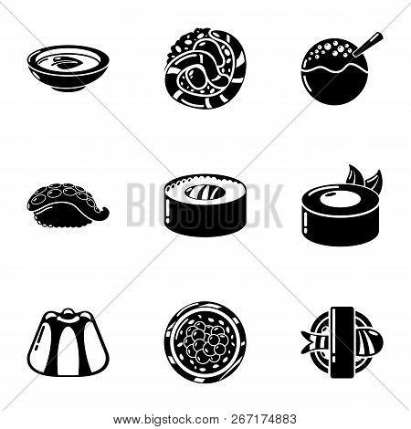 Whitefish Icons Set. Simple Set Of 9 Whitefish Vector Icons For Web Isolated On White Background