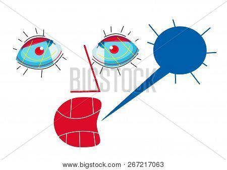 Scream, Anger And Talk Balloon  Illustration Of Scream And Talk Balloon Graphic.
