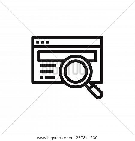 Research Icon Isolated On White Background. Research Icon In Trendy Design Style. Research Vector Ic