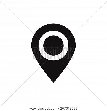 Location Icon Vector & Photo (Free Trial) | Bigstock