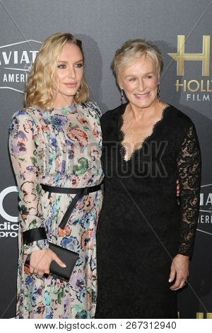LOS ANGELES - NOV 4:  Annie Starke, Glenn Close at the Hollywood Film Awards 2018 at the Beverly Hilton Hotel on November 4, 2018 in Beverly Hills, CA