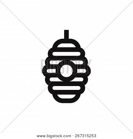 Hive Icon Isolated On White Background. Hive Icon In Trendy Design Style. Hive Vector Icon Modern An
