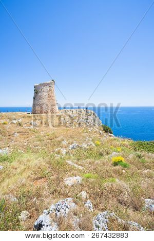 Minervino, Apulia, Italy - Hiking On The Cliffs At Torre Minervino