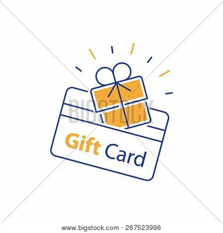 Loyalty Card, Incentive Gift, Collecting Bonus, Earn Reward, Redeem Gift, Shopping Perks, Discount C