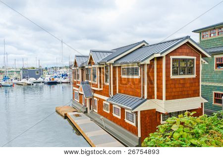 House on the water.