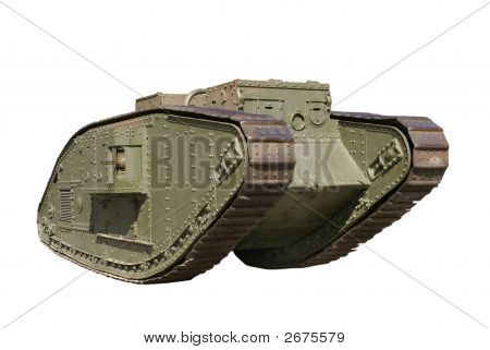 Battle Tank From The First World War