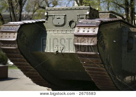 Light Battle Tank Of The First World War