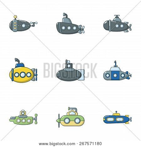Trough Icons Set. Flat Set Of 9 Trough Vector Icons For Web Isolated On White Background