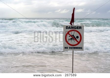 Danger! No Swimming