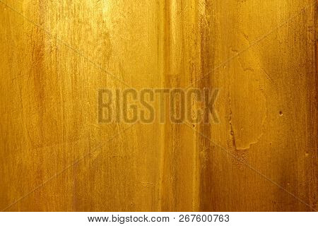 Old Gold Surface, Smooth Surface For The Background