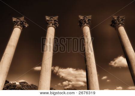 Four Towering Pillars