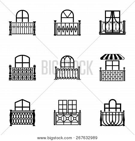 Clearance Icons Set. Simple Set Of 9 Clearance Vector Icons For Web Isolated On White Background