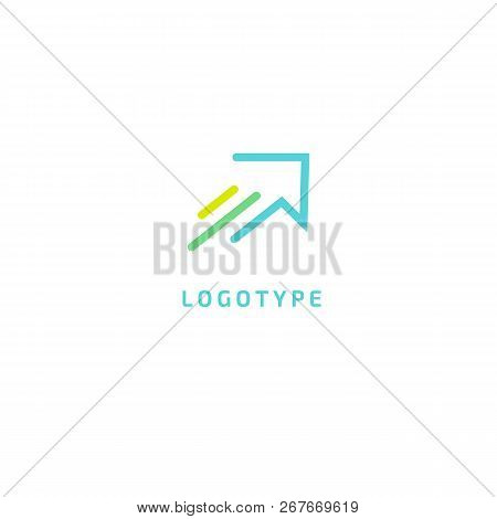 Airplane Icon. Vector Flat Style Illustration Air Ticket Booking Logo Template. Logo Concept Of Navi