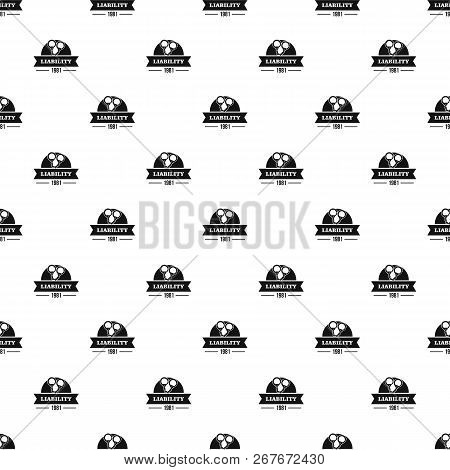 Liability Pattern Seamless Repeat For Any Web Design