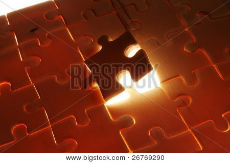 stock image of the last puzzle