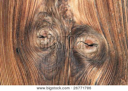 Tarry wooden texture