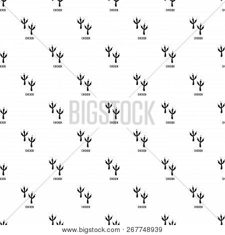 Chicken Step Pattern Seamless Repeat Geometric For Any Web Design