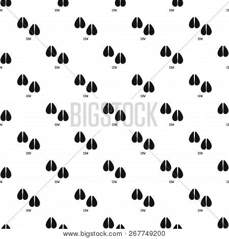 Cow Step Pattern Seamless Repeat Geometric For Any Web Design
