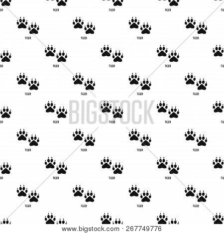 Tiger Step Pattern Seamless Repeat Geometric For Any Web Design