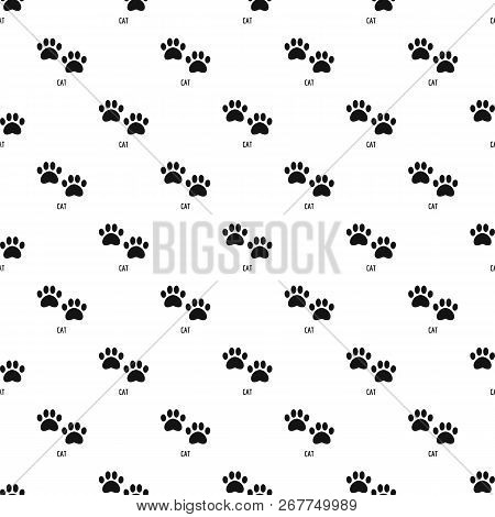 Cat Step Pattern Seamless Repeat Geometric For Any Web Design