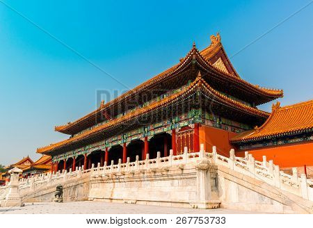 Beijing Forbidden City, Forbidden City, Chinese Capital, Taihe Gate