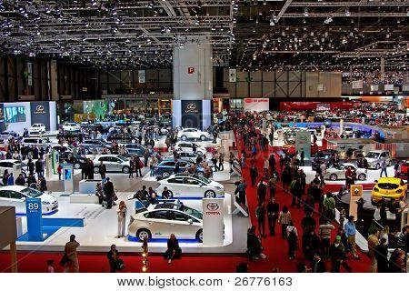 GENEVA - MARCH 7: 79th International Motor Show Palexpo on March 7, 2009 in Geneva, Switzerland.
