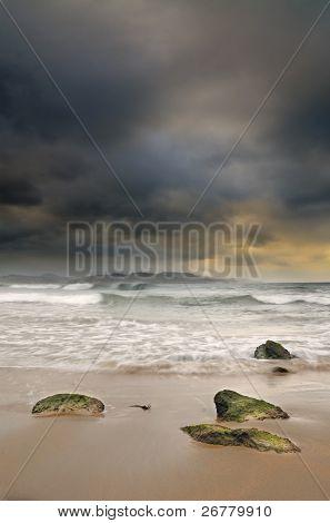 Northern Spain Seascape.